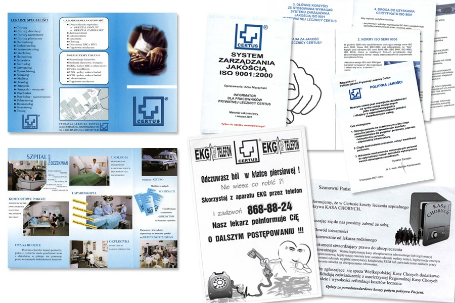 Materiały informacyjne P.L. CERTUS