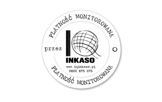 IQ Inkaso - Płatność Monitorowana - pieczęć dla IQ Group