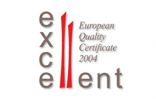 EXCELLENT -European Quality Certificate 2004 dla Europejskiego Instytutu Jakości