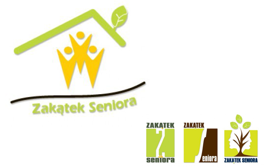 Zakątek Seniora - propozycje logo