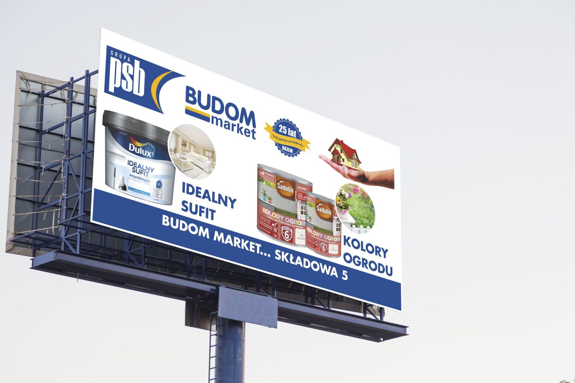 Bilboard Budom Market - Dulux